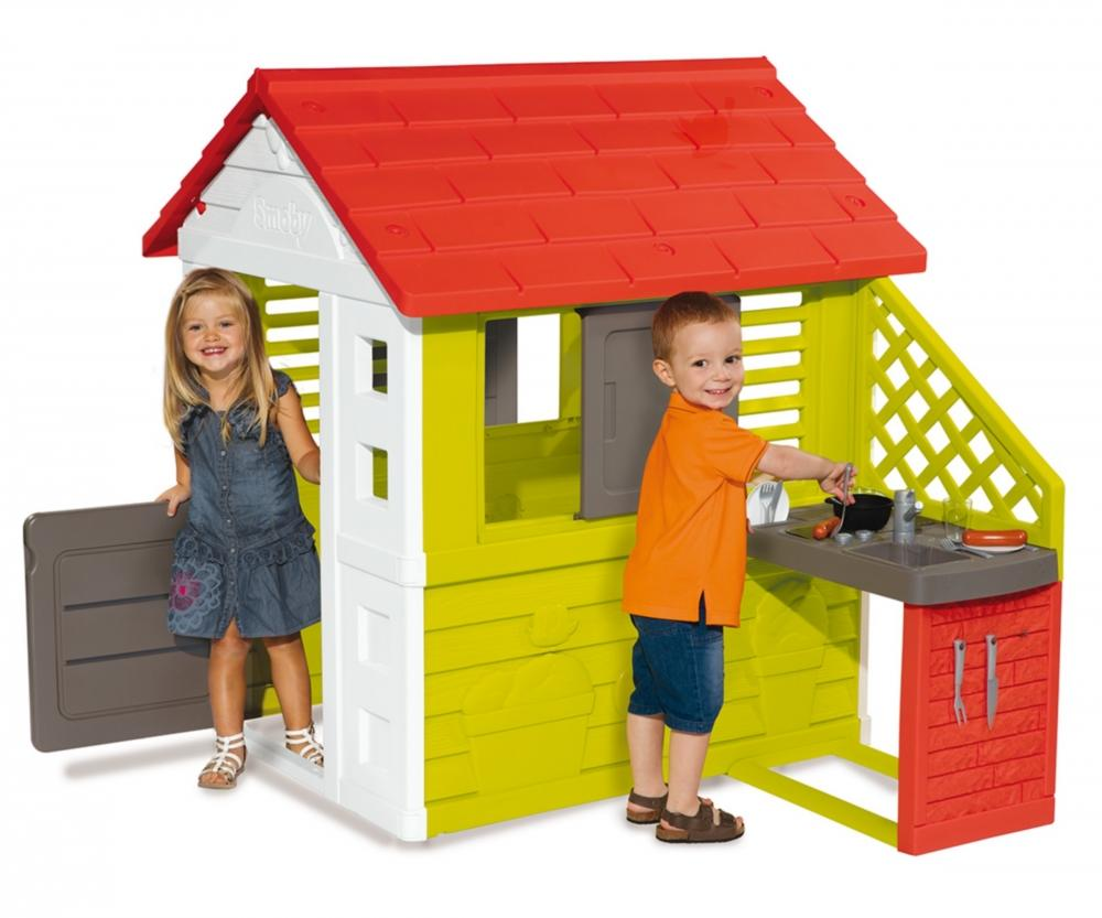 Smoby Nature Playhouse And Kitchen Toymaster Ballina