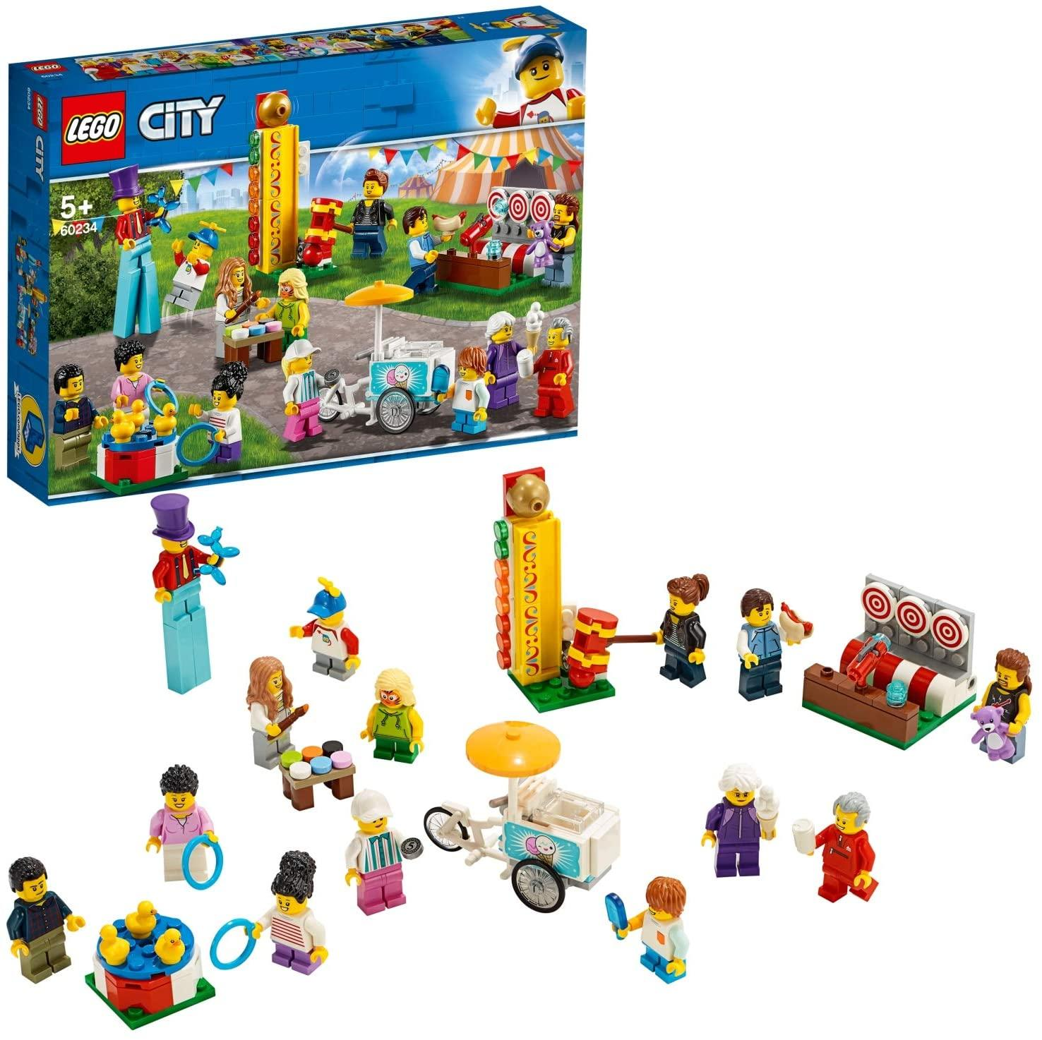 LEGO 60234 City Town People Pack - Fun Fair Toymaster Ballina