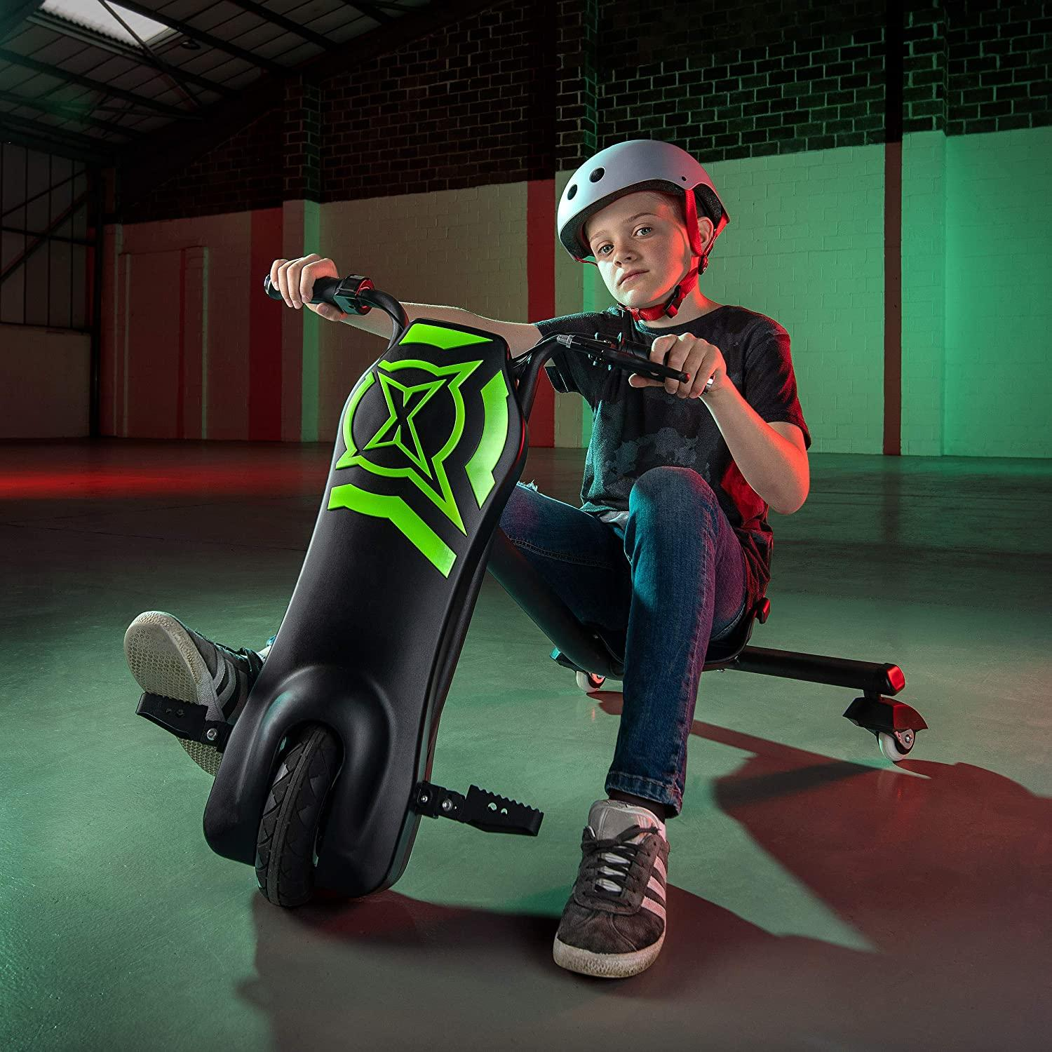 Xootz Kids Typhoon Electric Power Drift Trike Toymaster Ballina