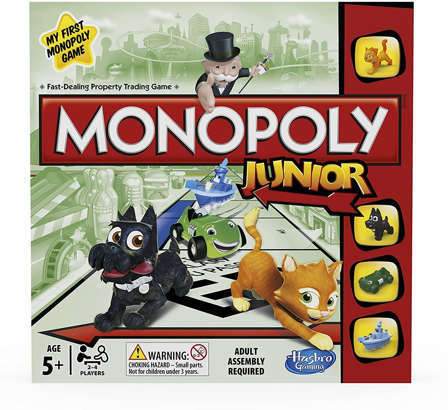 Hasbro Gaming Monoploy Junior Toymaster Ballina