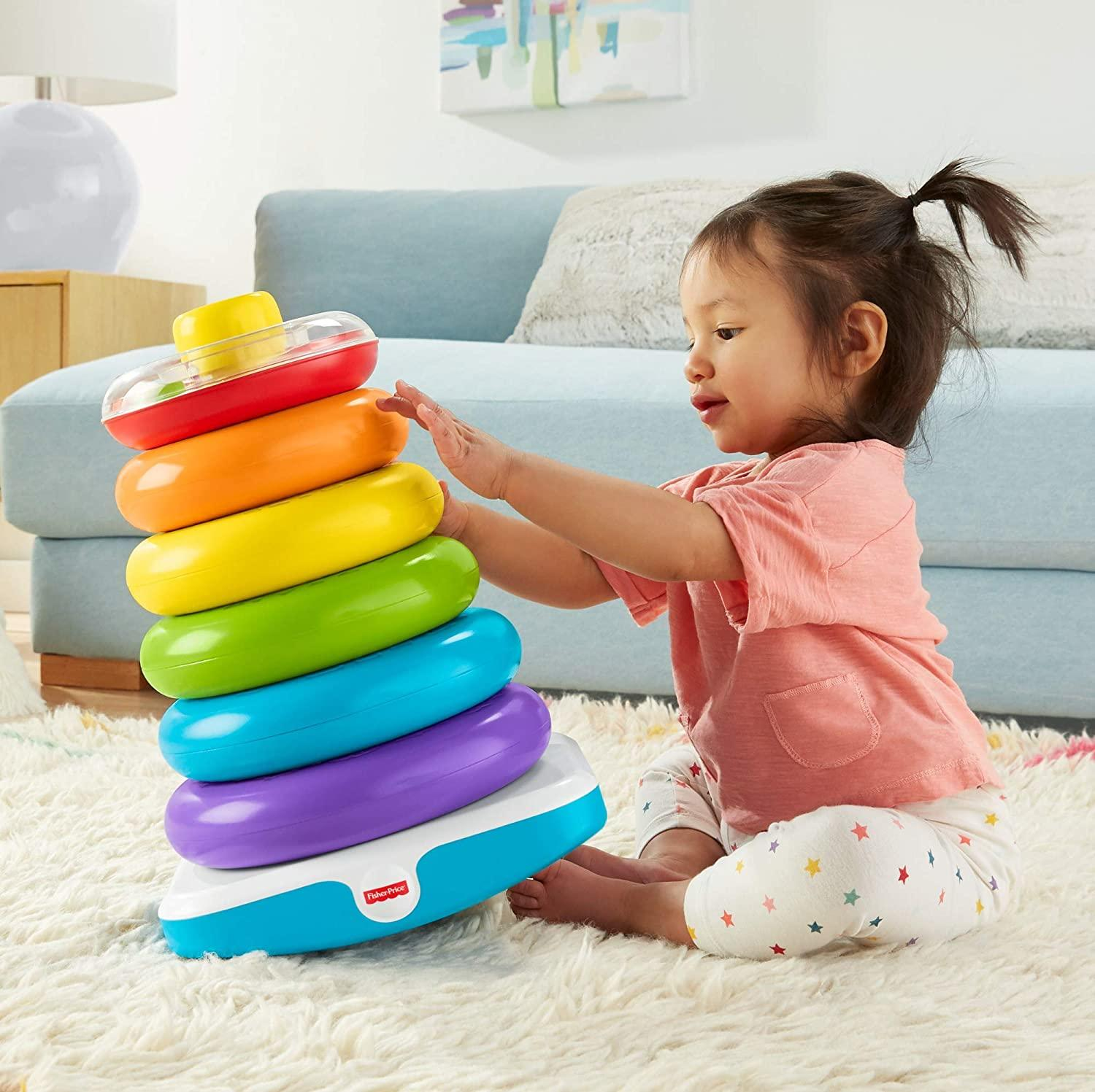 Fisher Price Giant Rock A Stack Toymaster Ballina