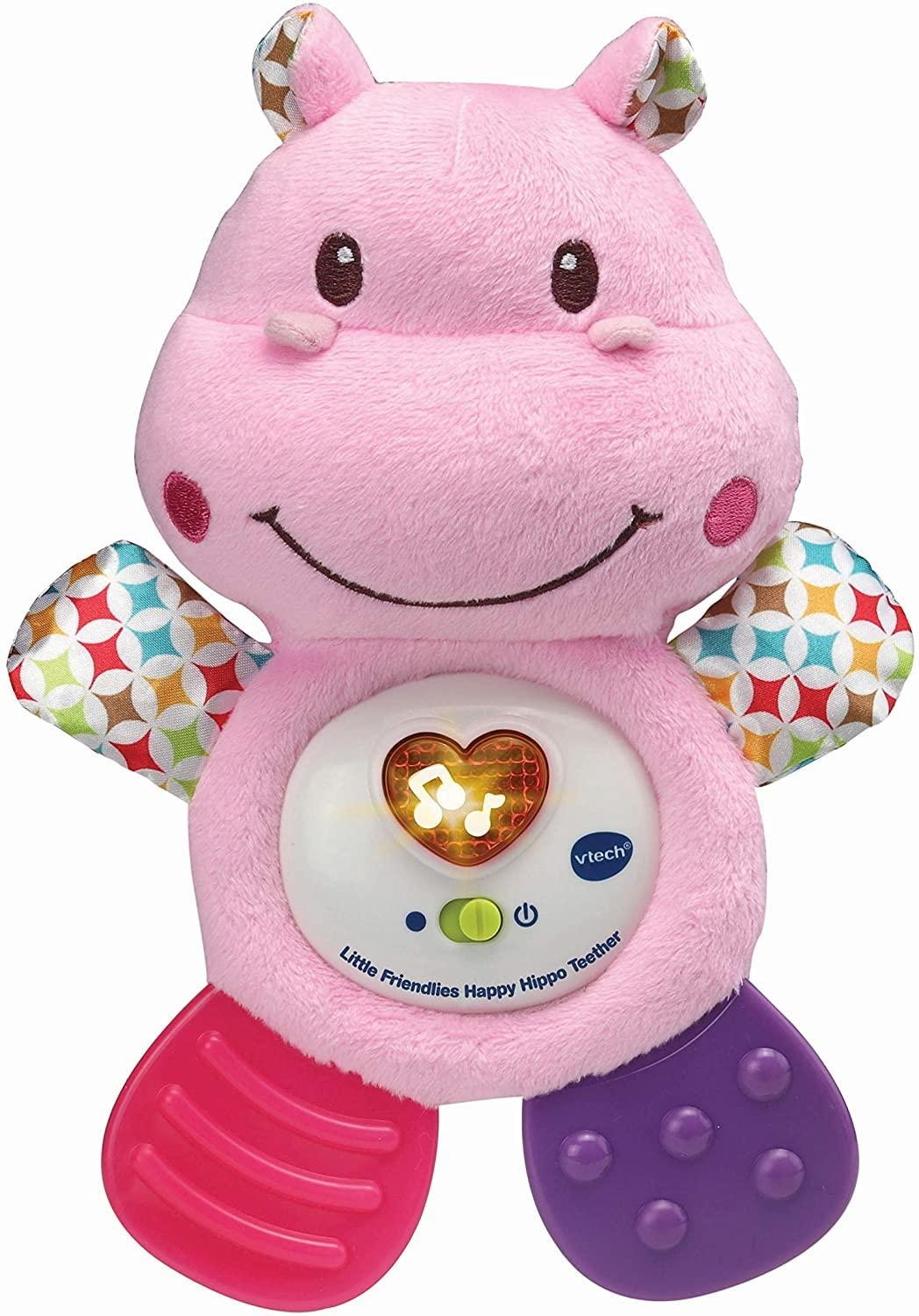 Vtech Happy Hippo Teether Pink Toymaster Ballina