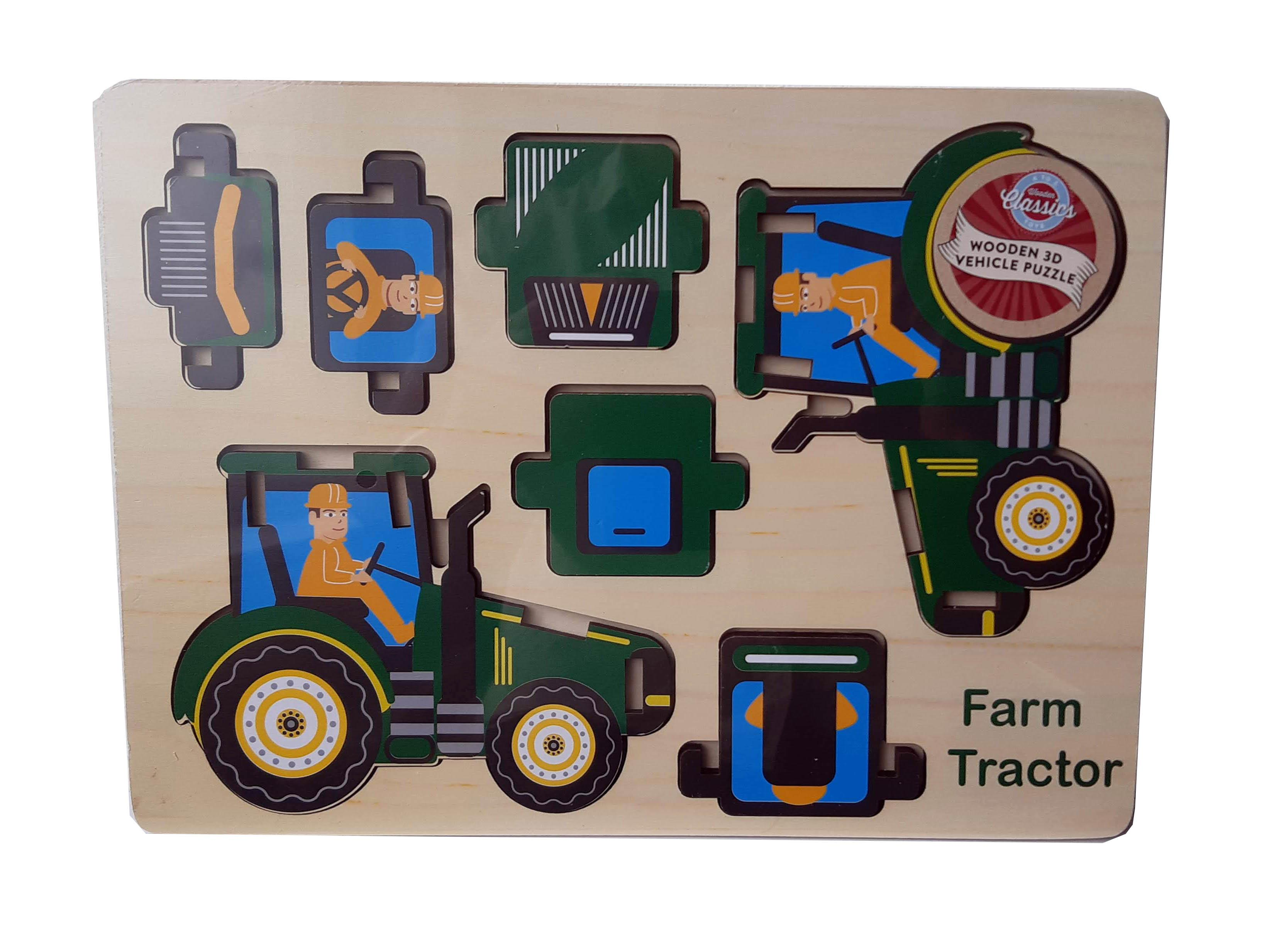 tractor puzzle  01780