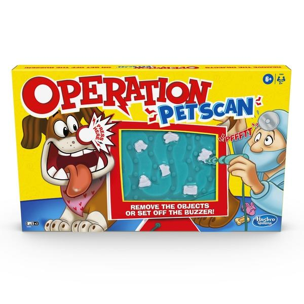 Hasbro Gaming Operation Pet Scan Toymaster Ballina