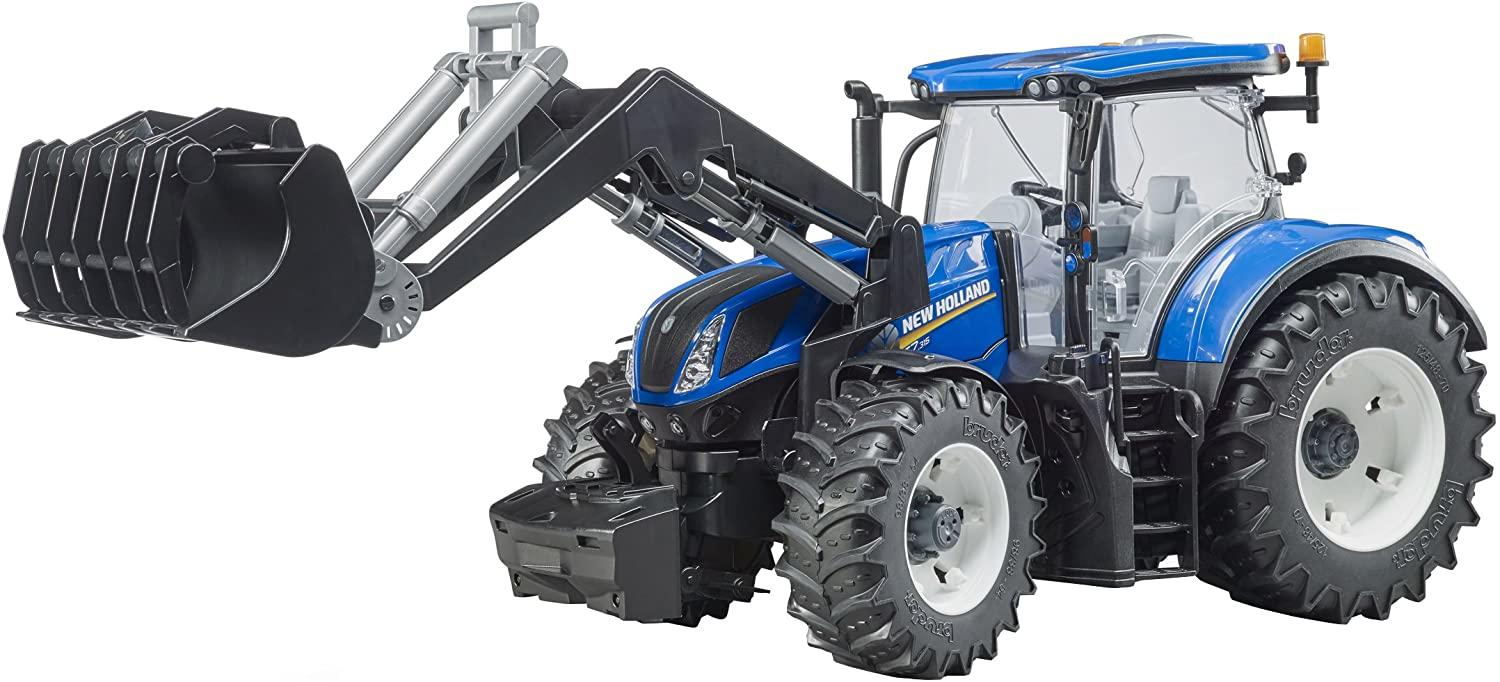 Bruder 03121 New Holland T7315 With Frontloader