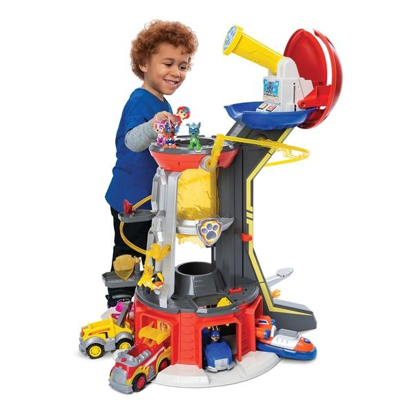 Paw Patrol Mighty Pups Mighty Lookout Tower Toymaster Ballina