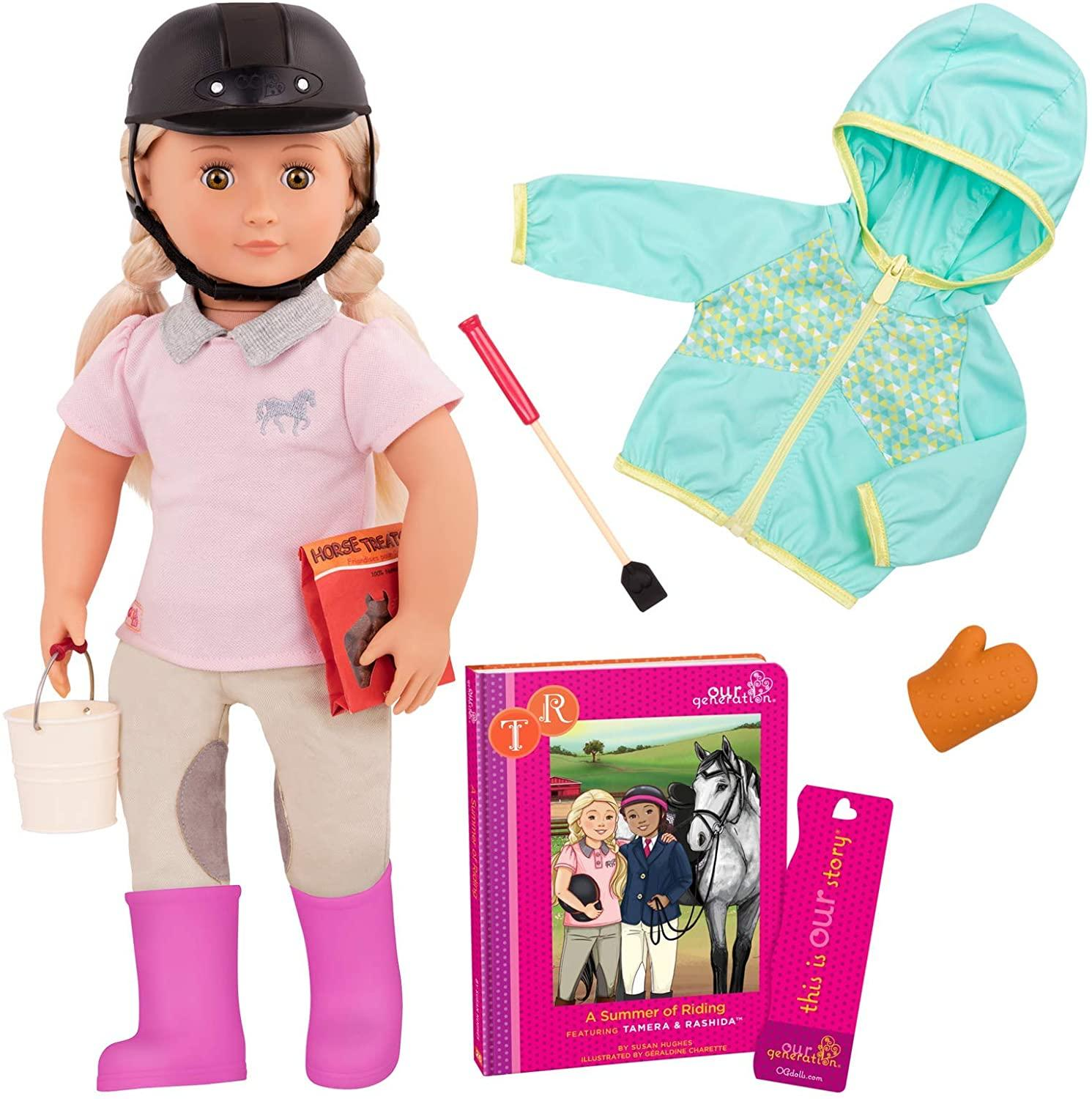 Our Generation Tamera A Summer Of Riding Deluxe Doll Toymaster Ballina