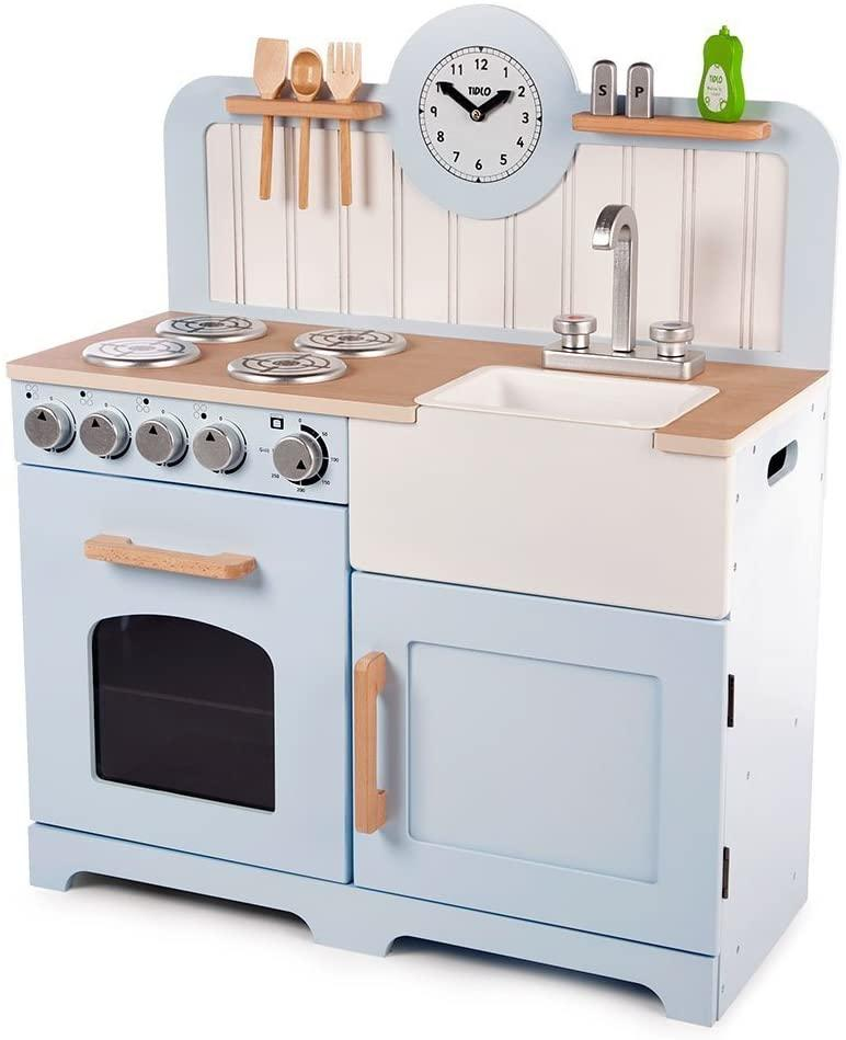 Tidlo Wooden Country Play Kitchen Toymaster Ballina