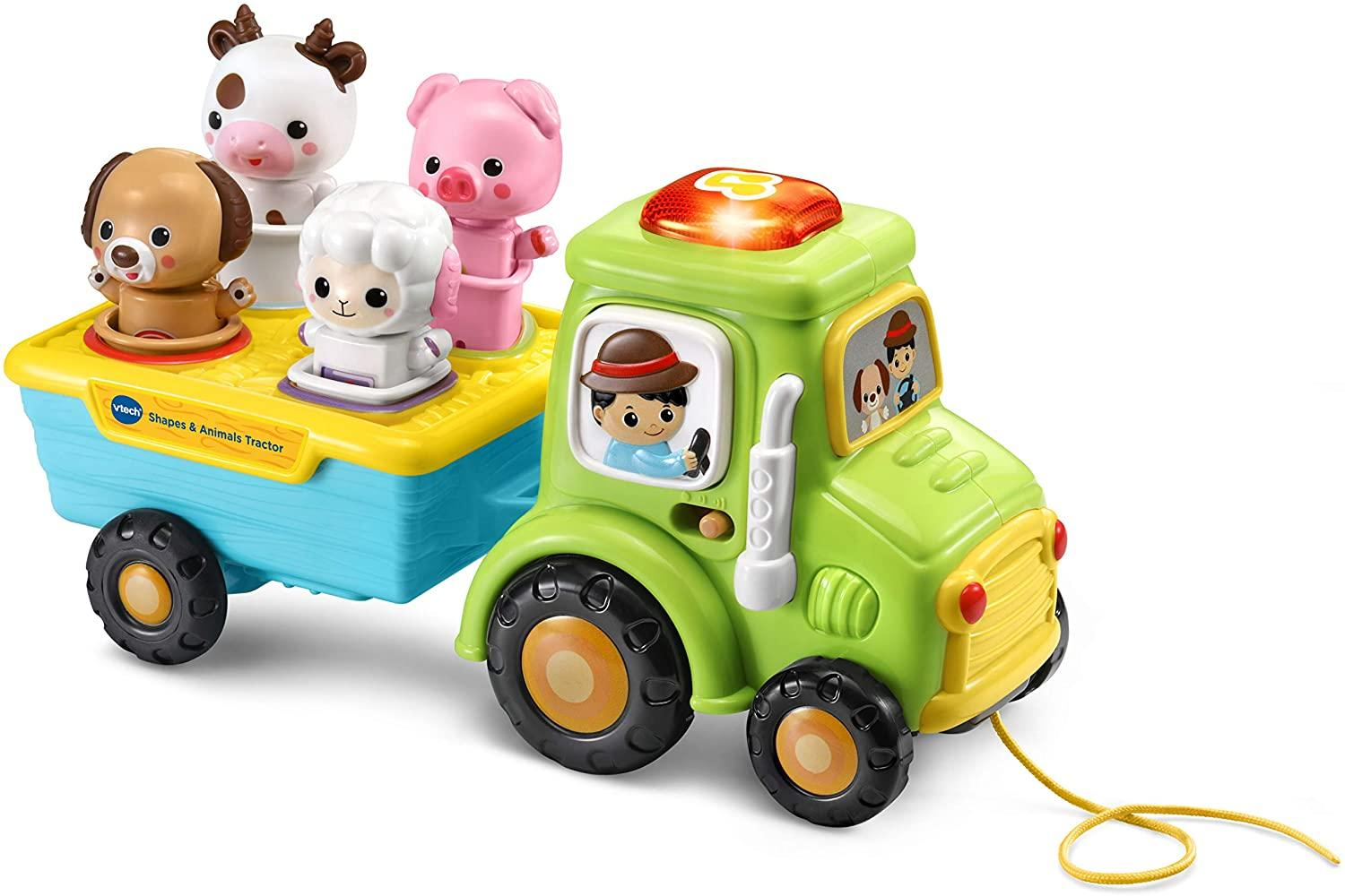 Vtech Shapes And Animals Tractor Toymaster Ballina