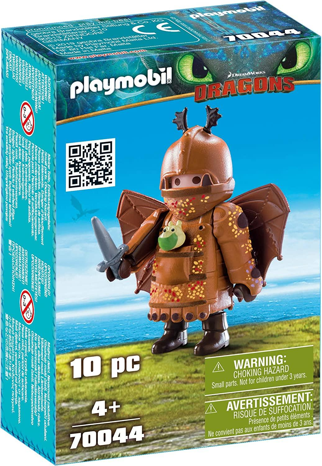 Playmobil 70044 Fishlegs With Flightsuit Toymaster Ballina