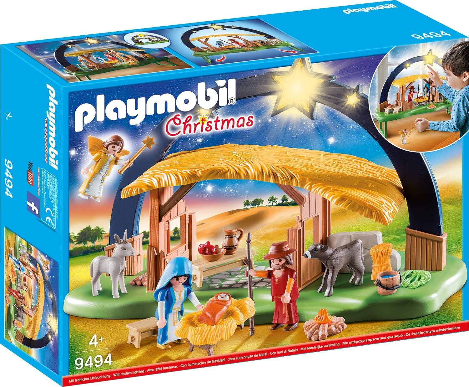 Playmobil 9494 Illuminating Nativity Manger Toymaster Ballina