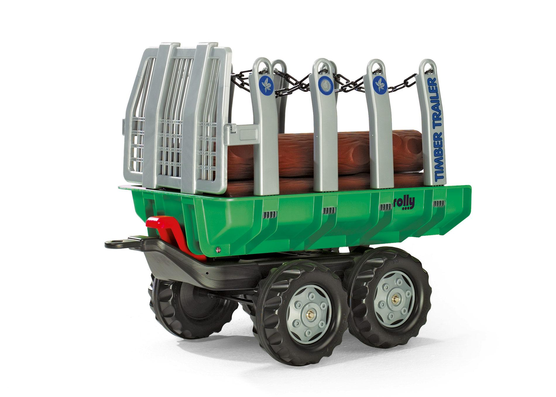 Rolly Twin Axle Log Trailer Green Toymaster Ballina