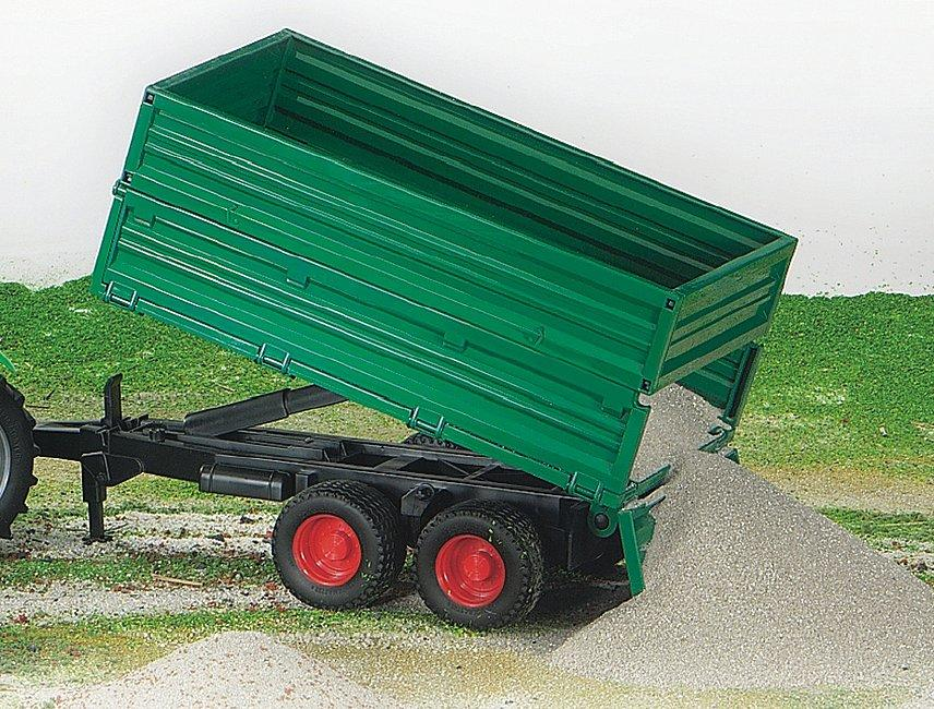 Bruder 02010 Twin Axel Tipping Trailer Toymaster Ballina