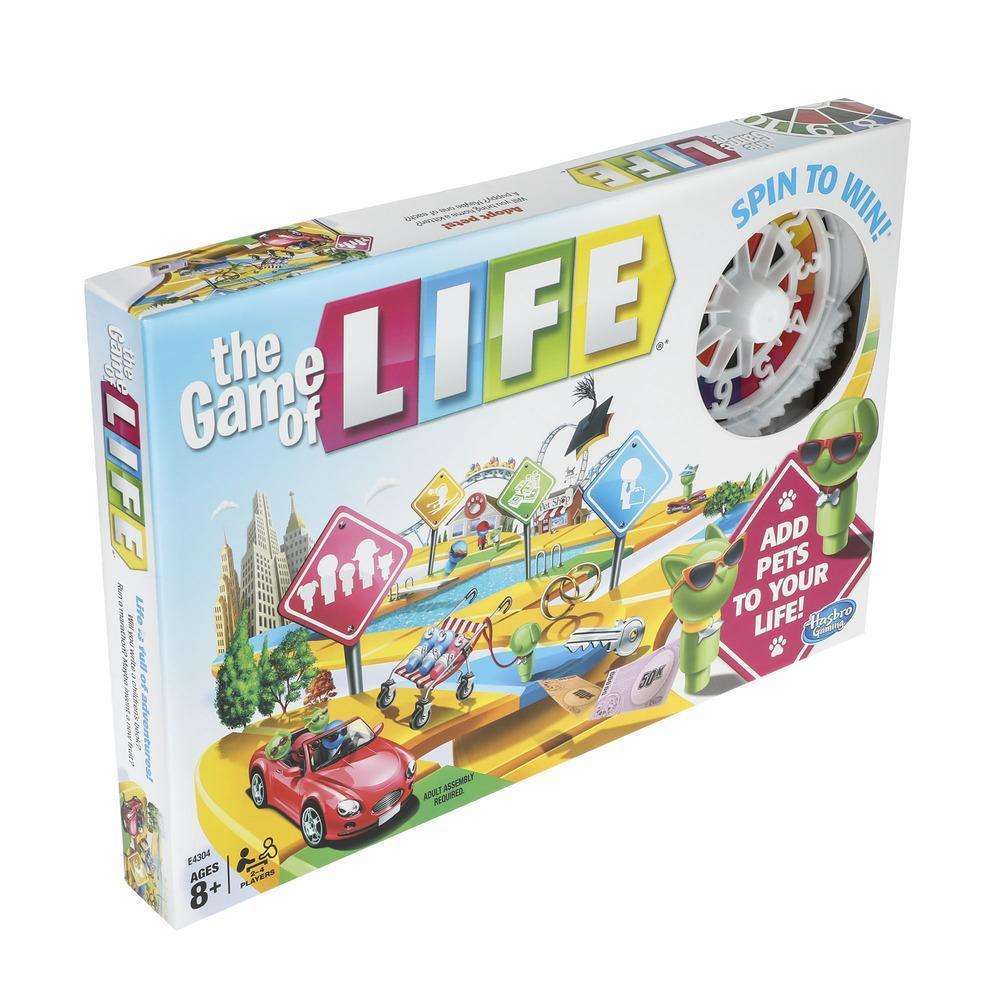 Hasbro The Game Of Life Toymaster Ballina