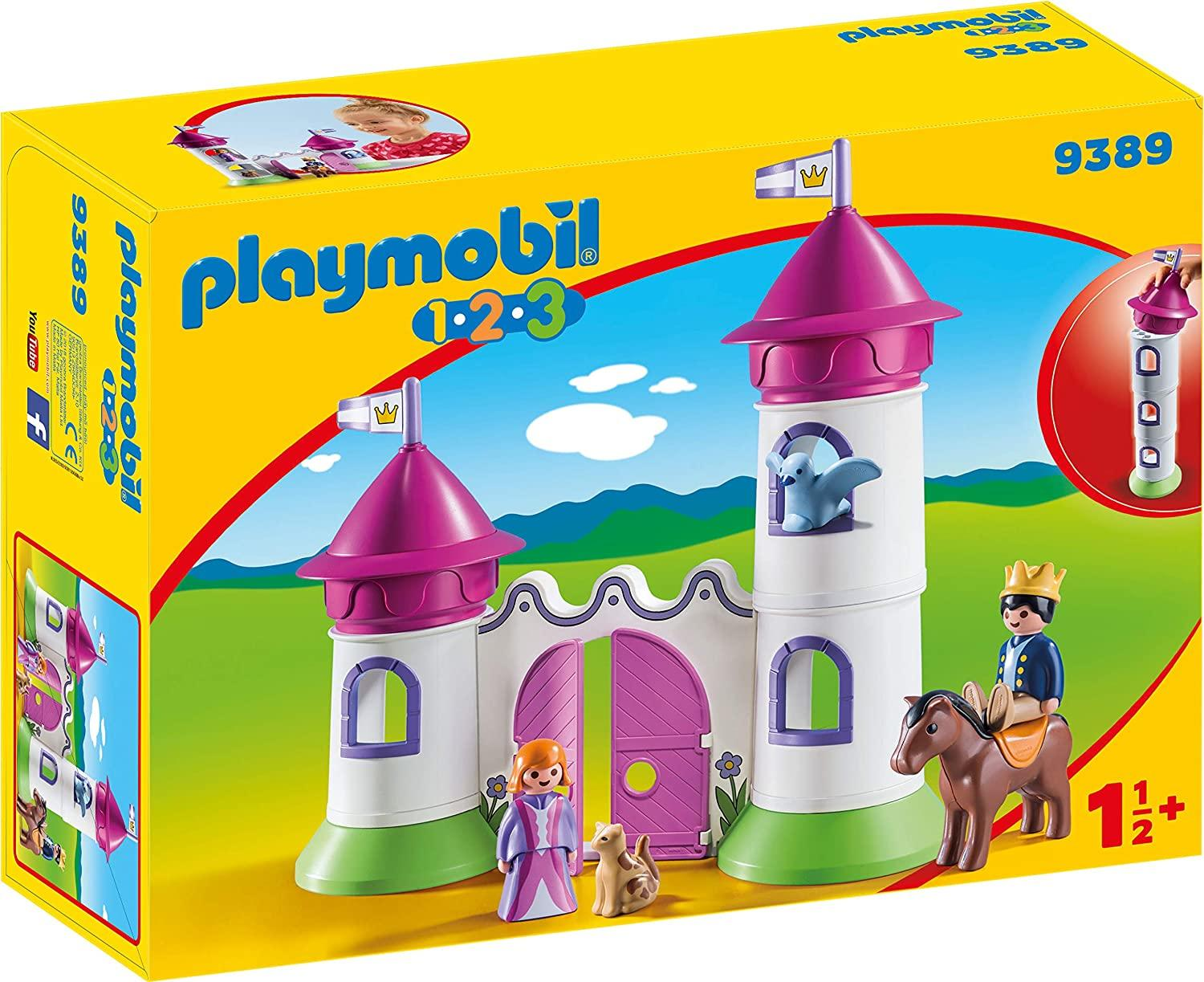 Playmobil 9389 Castle With Stackable Towers Toymaster Ballina
