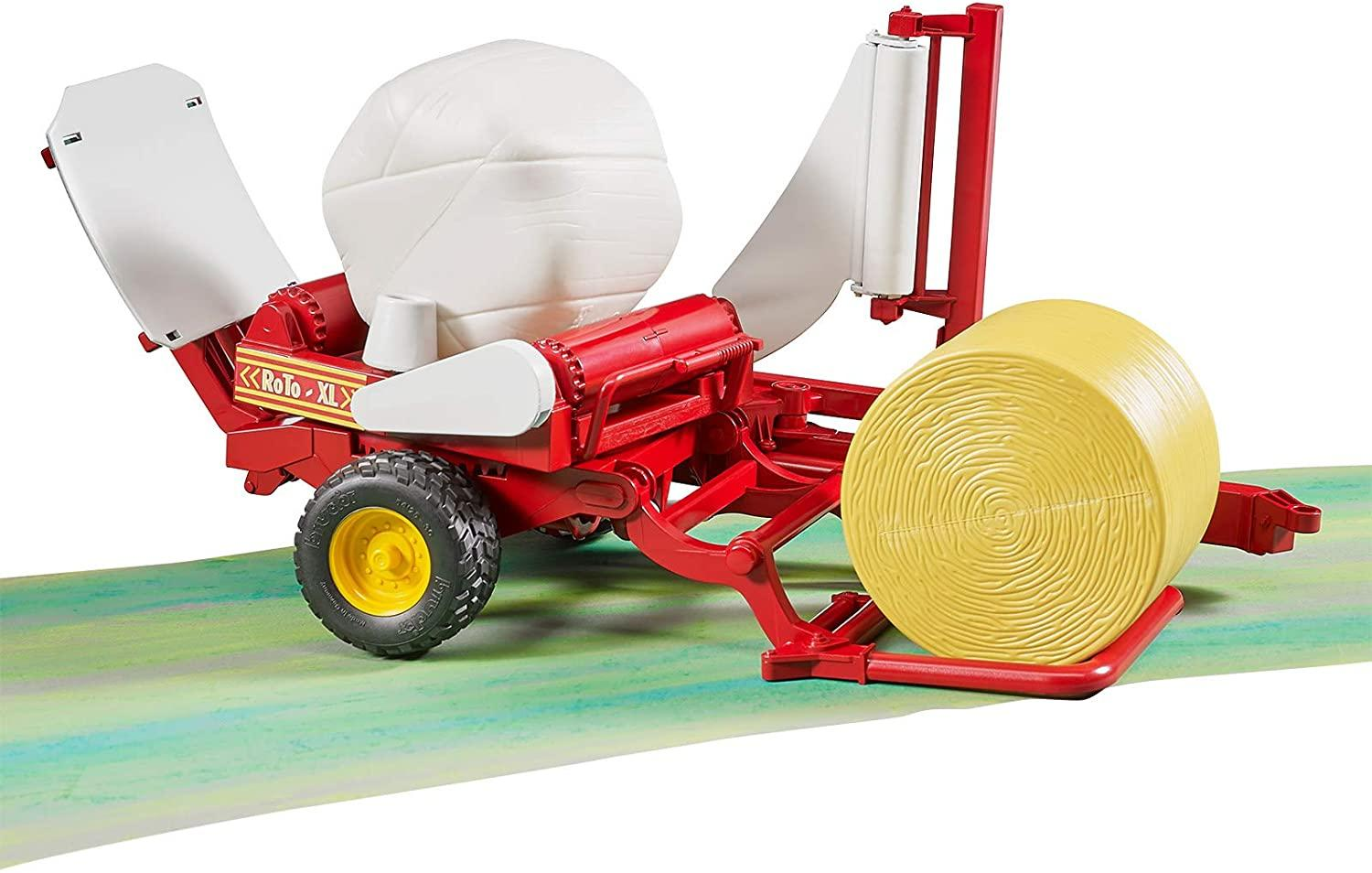 Bruder 02122 Round Bale Wrapper And Bales Toymaster Ballina