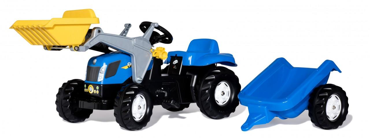 Rolly Kid New Holland Tractor, Trailer And Loader Toymaster Ballina