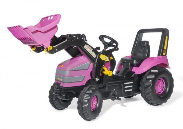 Rolly Pink Xtrac Tractor And Loader Toymaster Ballina