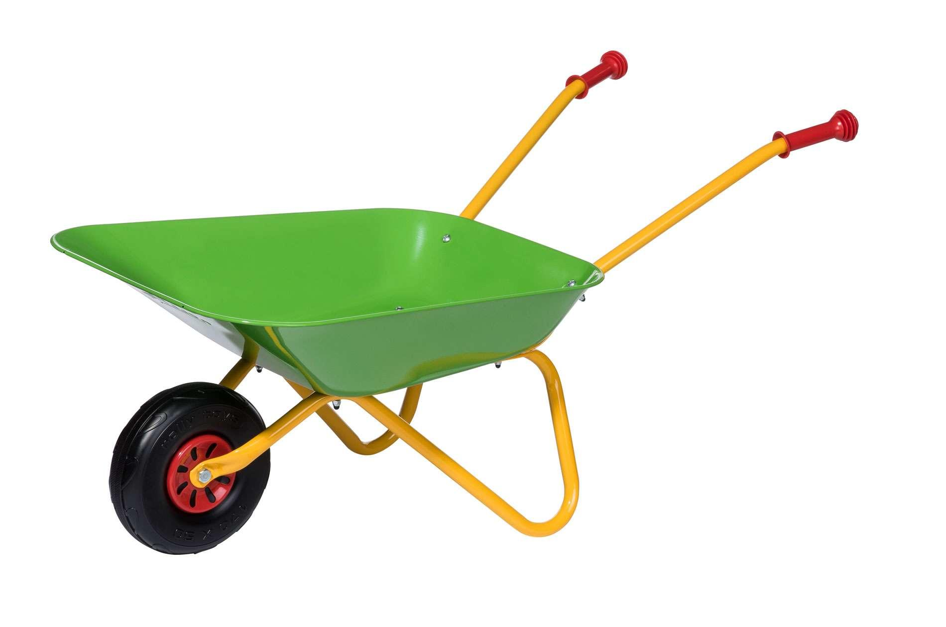 Rolly Green Yellow Wheelbarrow Toymaster Ballina