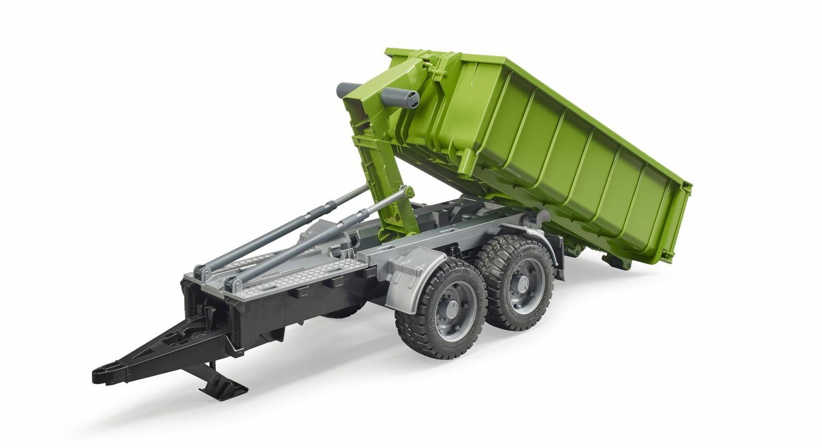 Bruder 02035 Roll Off Container Trailer Toymaster Ballina