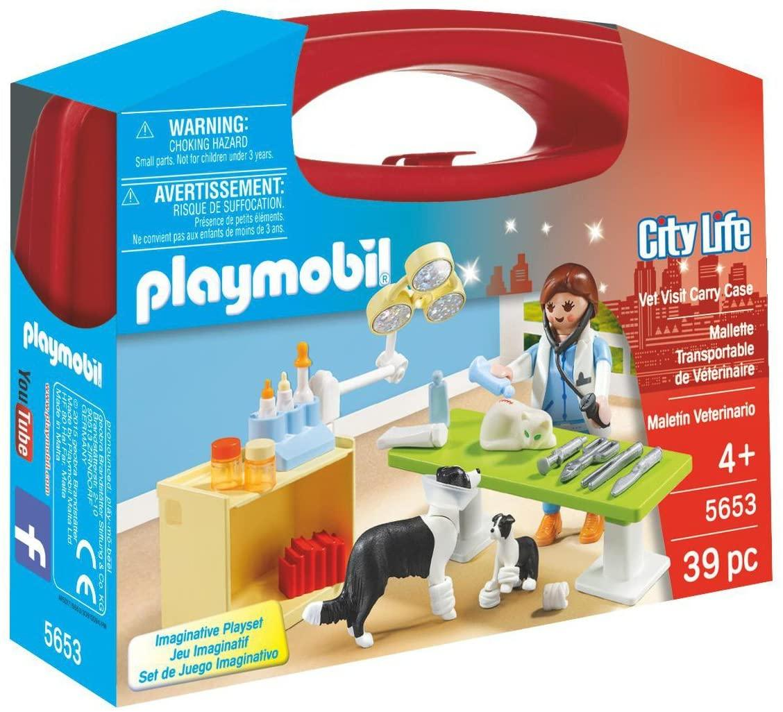 Playmobil 5653 Vet Visit Carry Case Toymaster Ballina