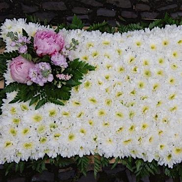 Traditional Pillow Funeral Flowers