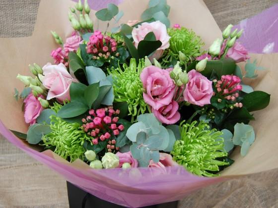 Pink and Cerise Bouquet