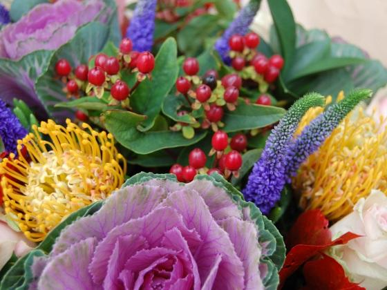 Vibrant Autumnal Bouquet