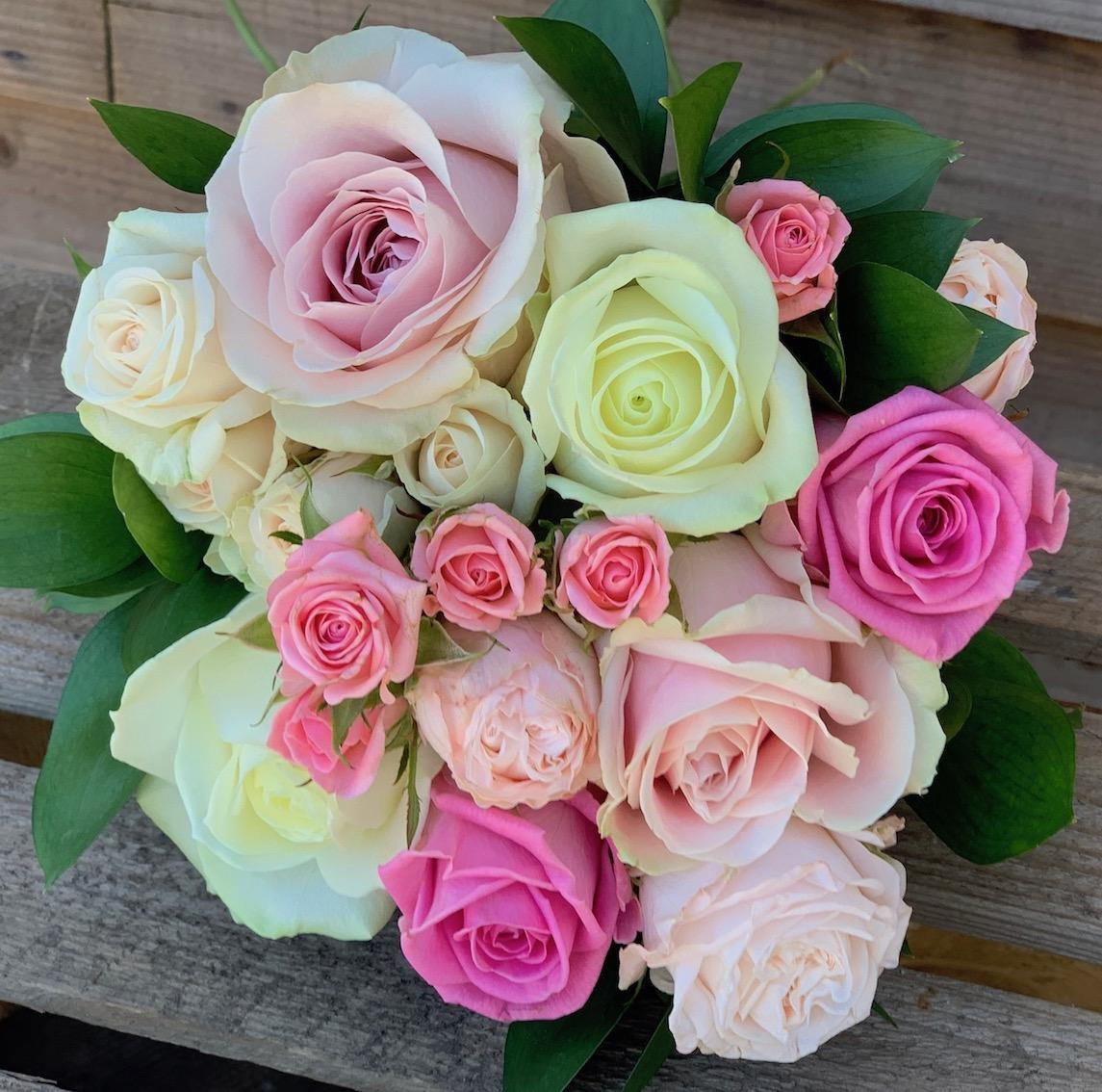 Bridesmaids Mixed Rose Bouquet