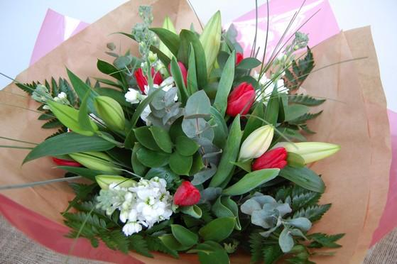P.S I Love You - Valentines Bouquet