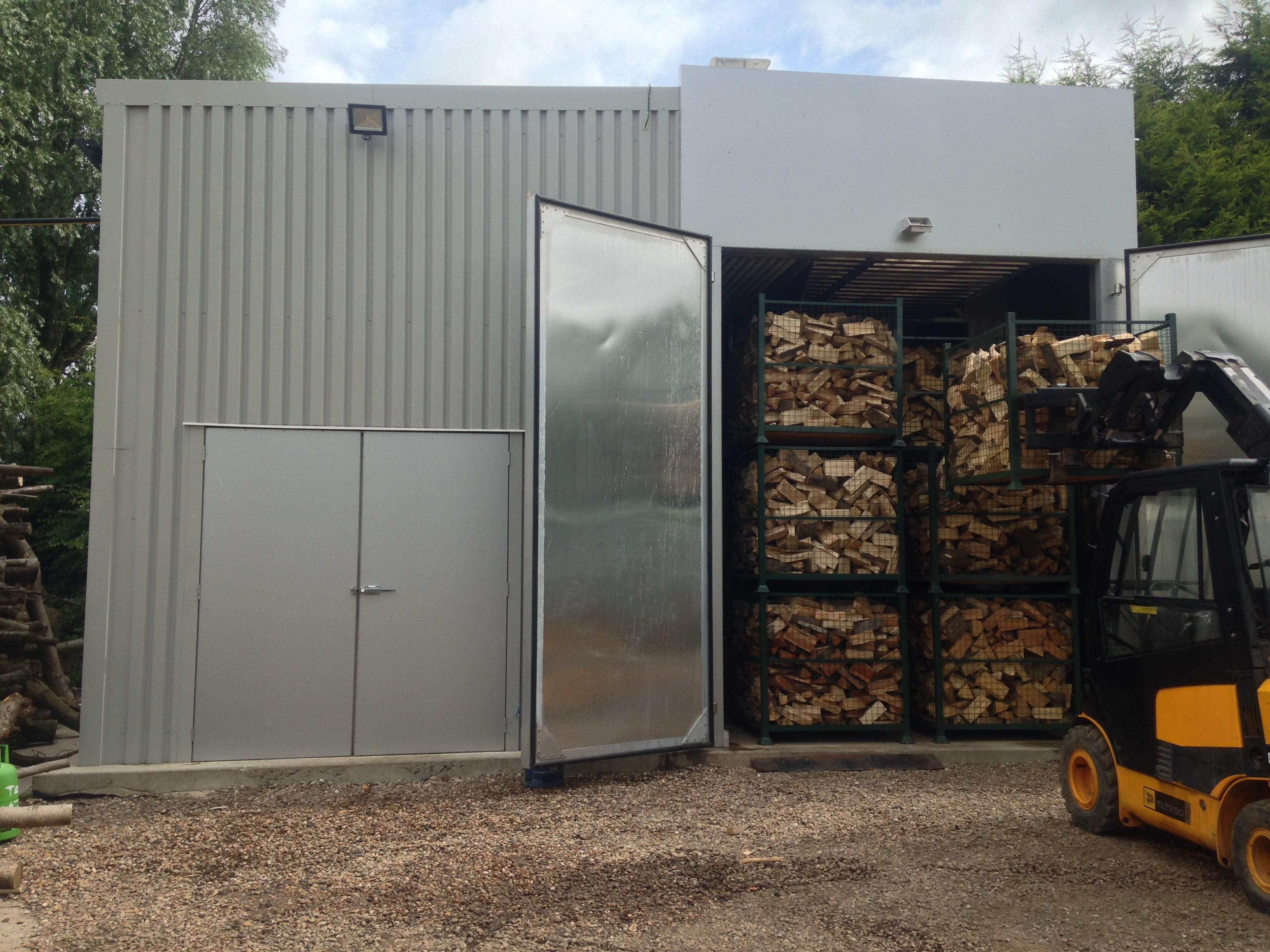 Firewood Drying Kiln