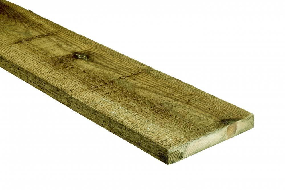 022 x 200mm - [8x1] Ungraded Treated Rough Sawn - Per Meter - Nottage Timber Merchants