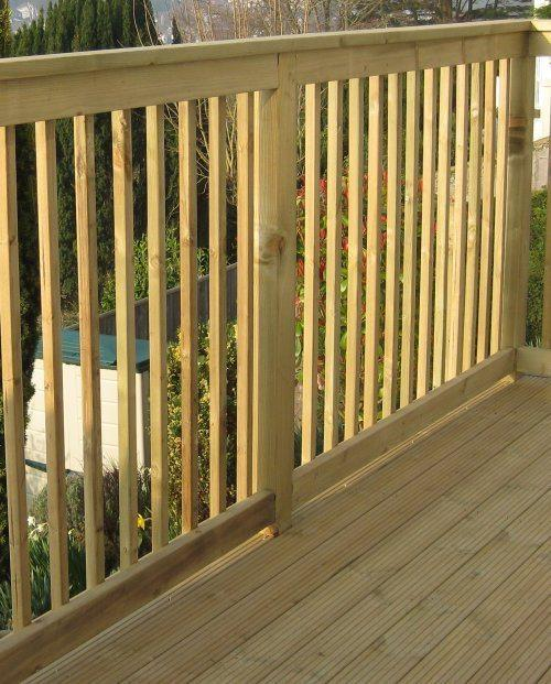 Browse the huge range of Decking Balustrading available Online from Nottage Timber Merchants. Perfect for Any Professional, Trade or DIY Application