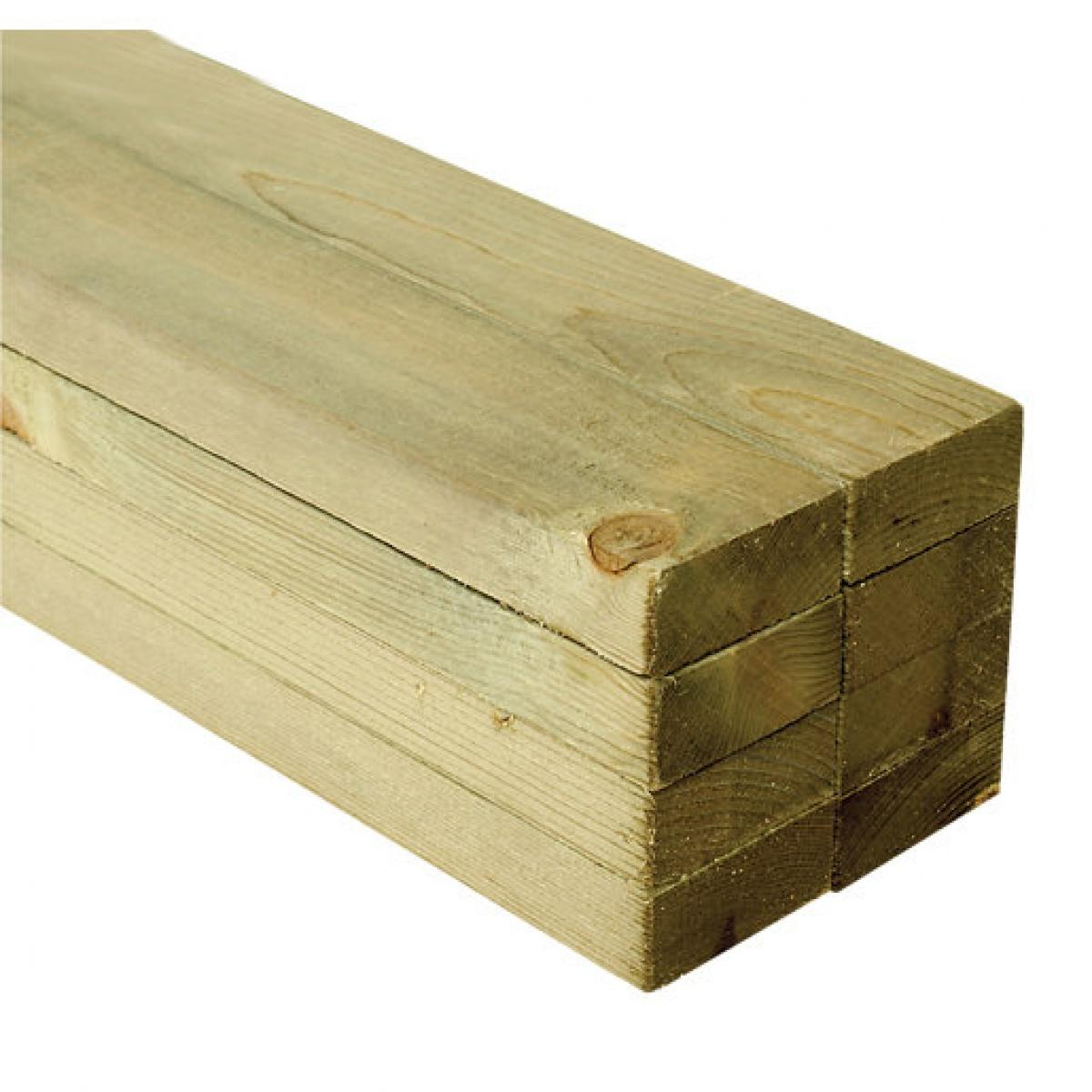 50mm x 100mm - [4x2] Ungraded Treated Rough Sawn - Nottage Timber Merchants