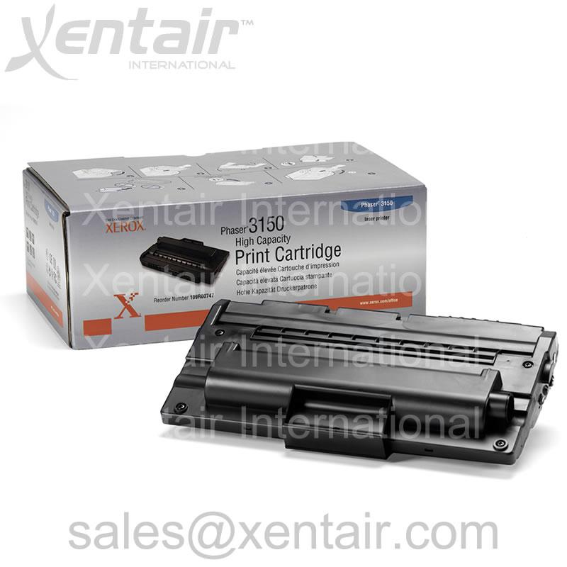 Xerox® Phaser™ 3150 High Capacity Print Cartridge 109R00747