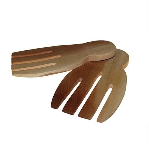Salad Server Set - Mahogany