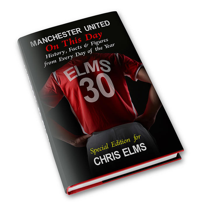Manchester United On This Day Personalised Book