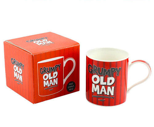 Grumpy Old Man Bone China Mug