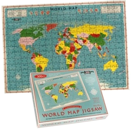 World map jigsaw 300 piece jigsaw puzzle gumiabroncs Image collections