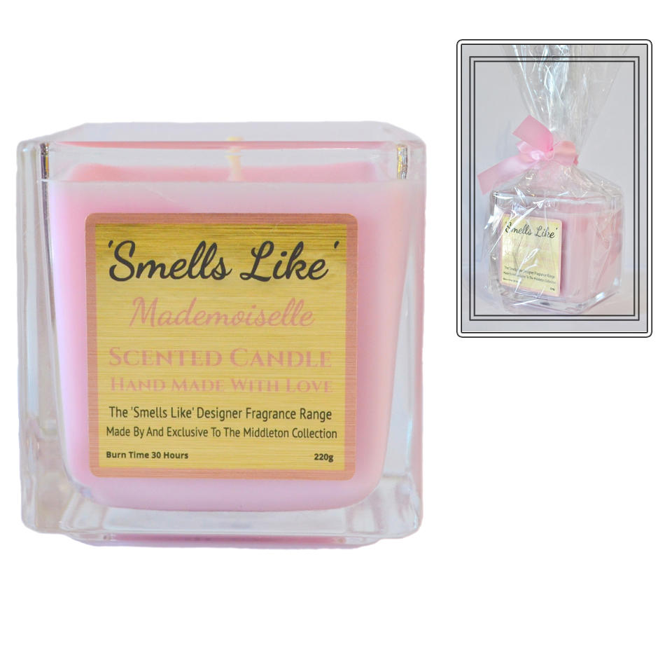 Mademoiselle scented candle