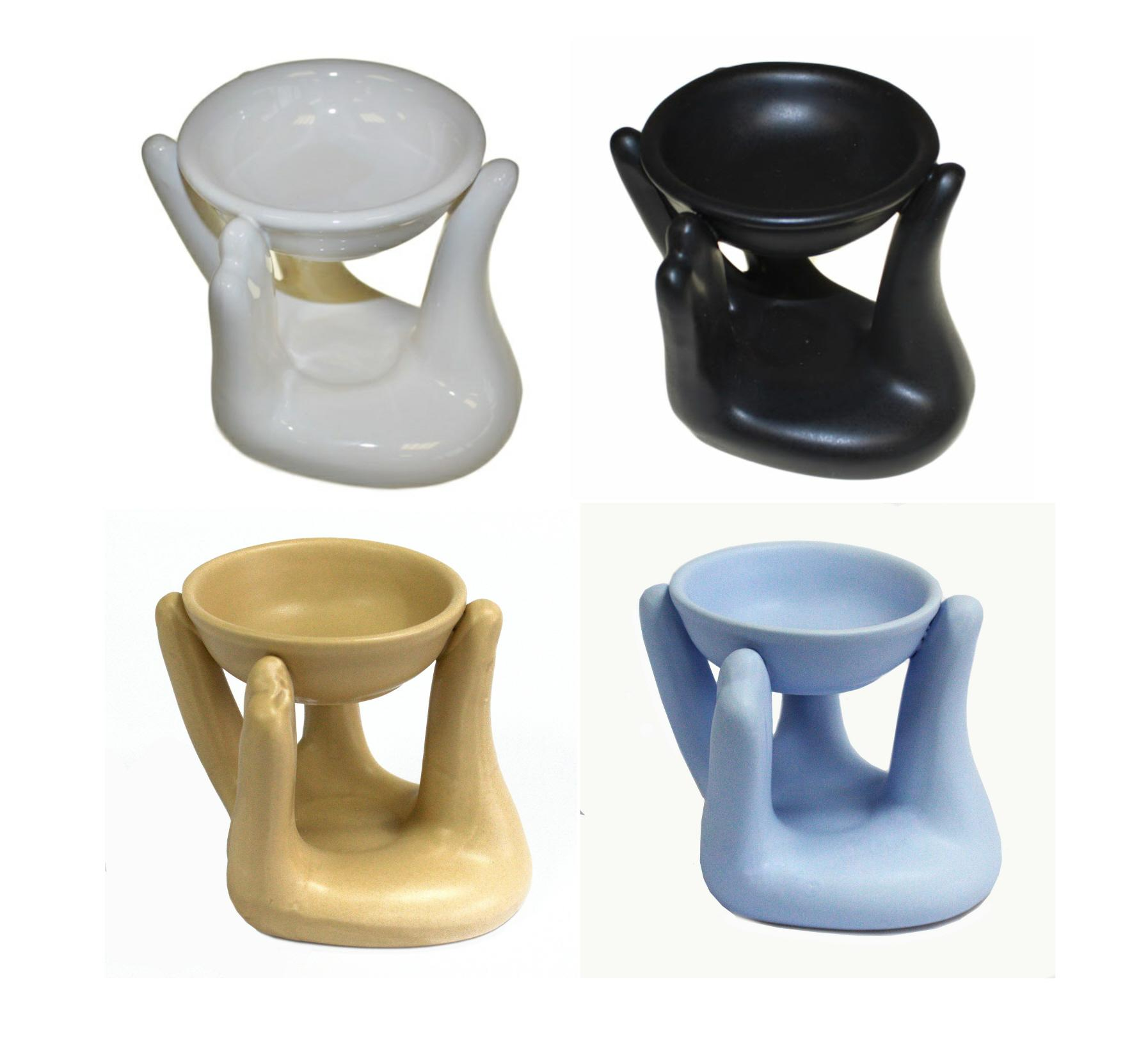 Helping Hand oil burners (Choice of 4 colours)