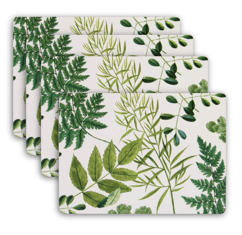 RHS Foliage Set of Four Placemats