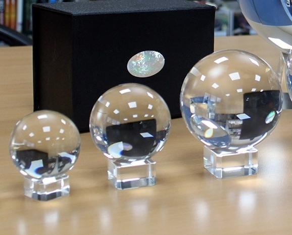 Clear Crystal Ball in 3 sizes