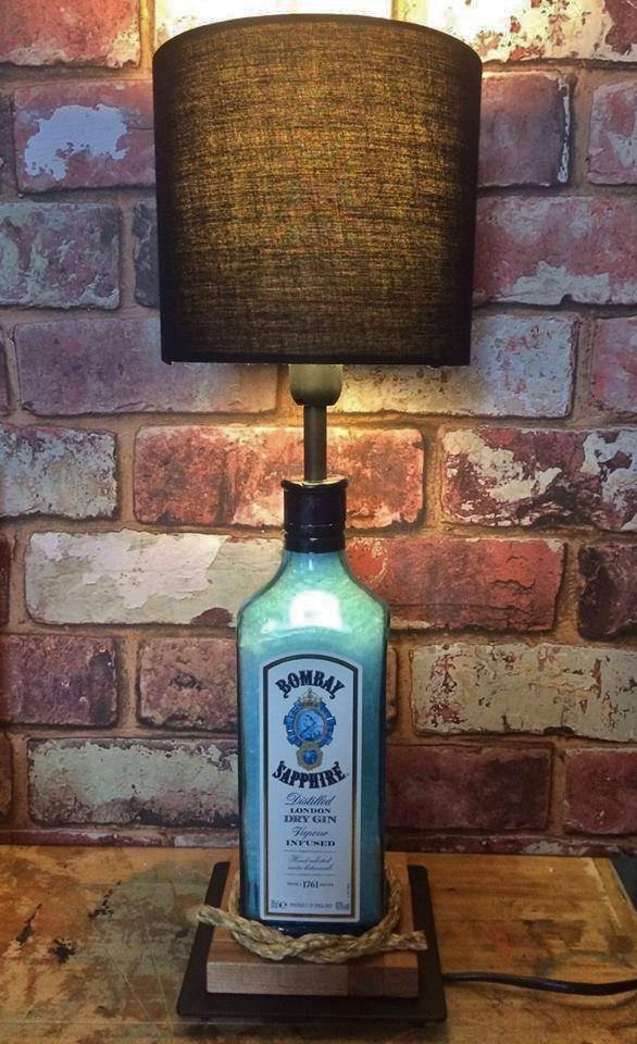 Bombay Sapphire Gin Table Lamp
