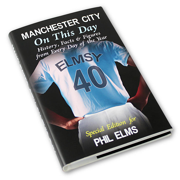 Manchester City On This Day Personalised Book