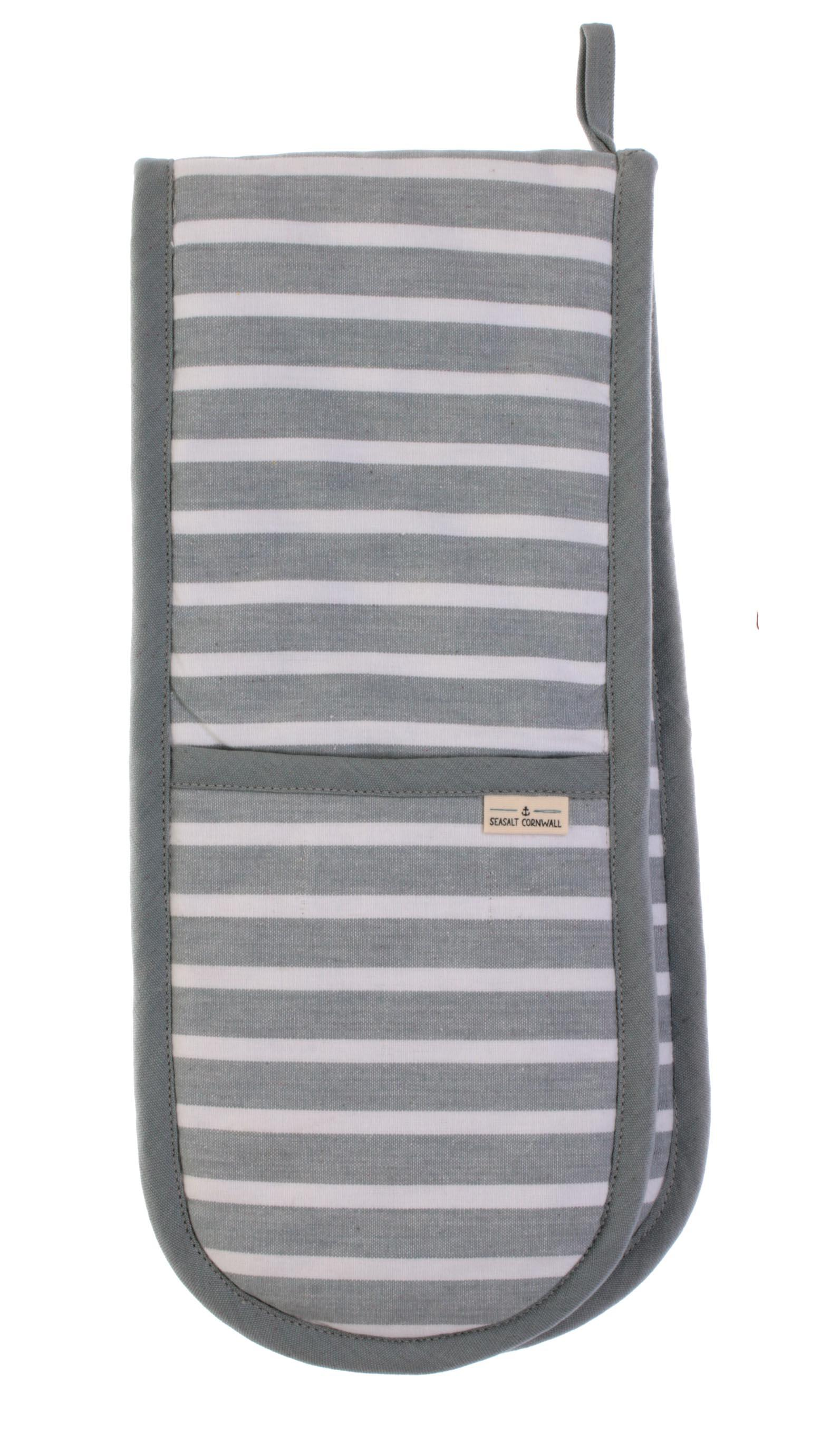 Seasalt Breton Quarry double oven glove