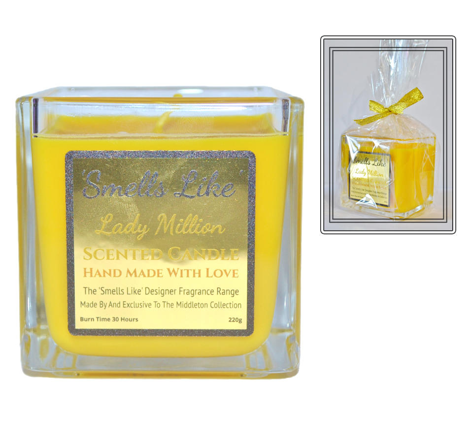 Lady Million scented candle