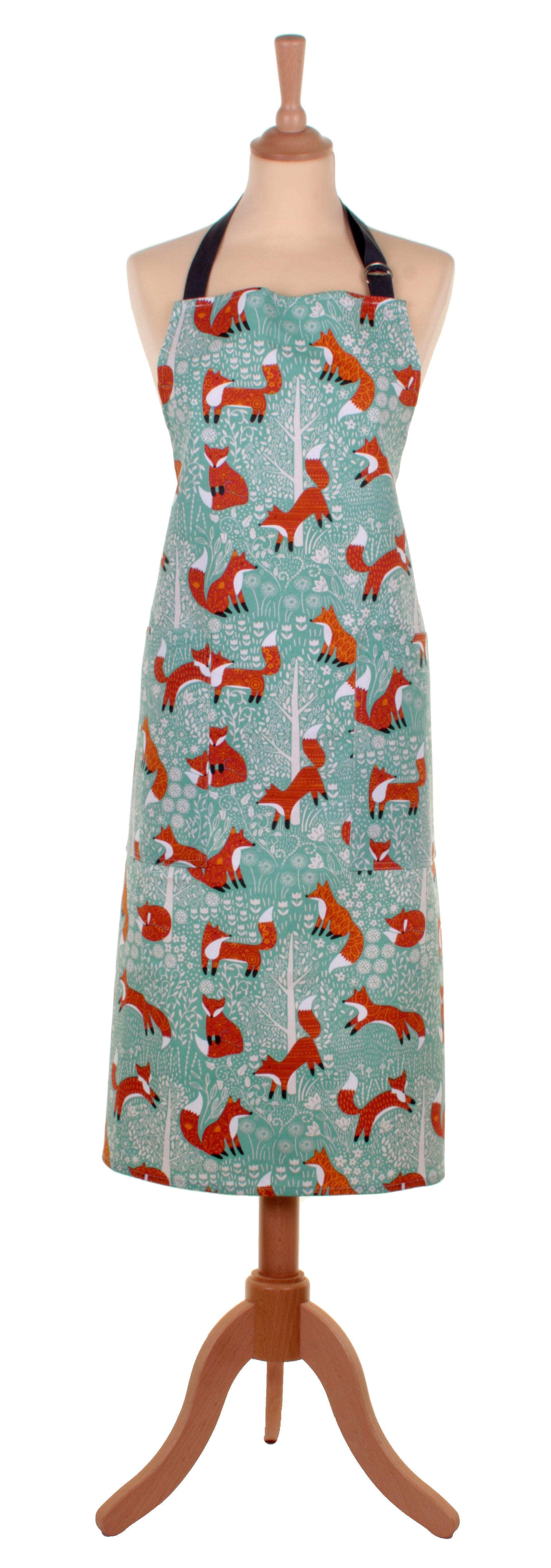 Foraging Fox cotton apron