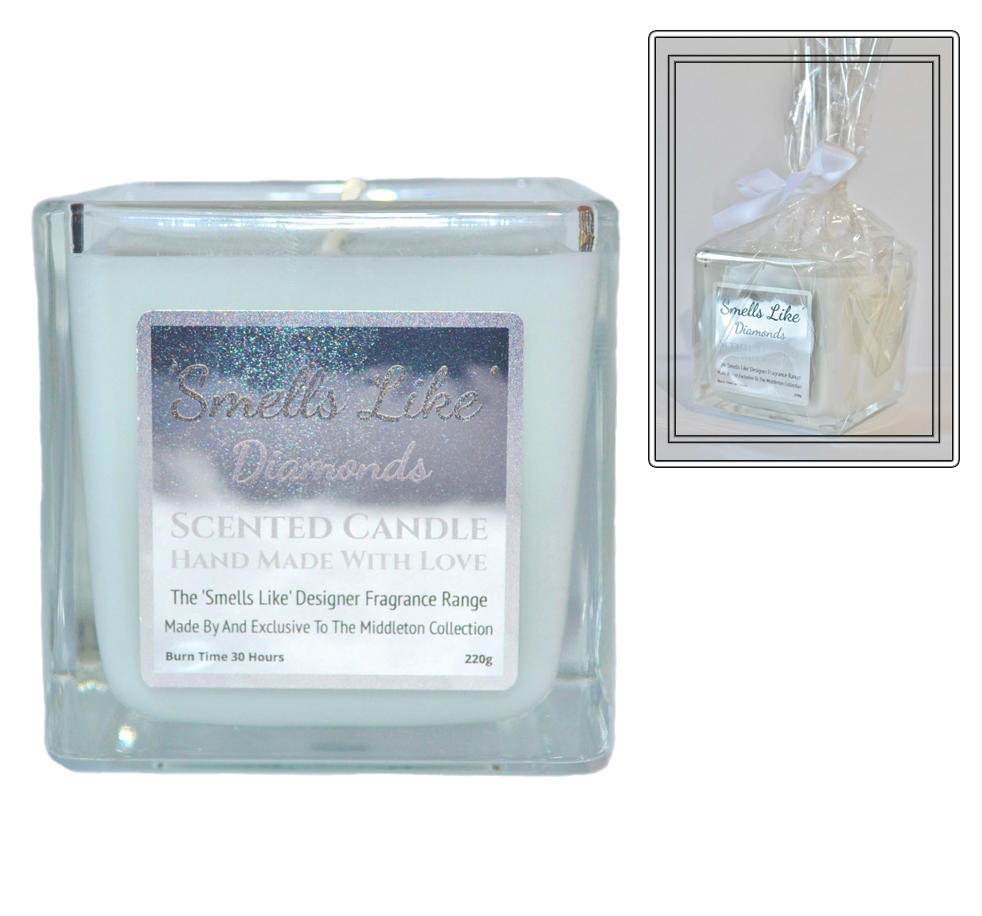 Diamonds scented candle