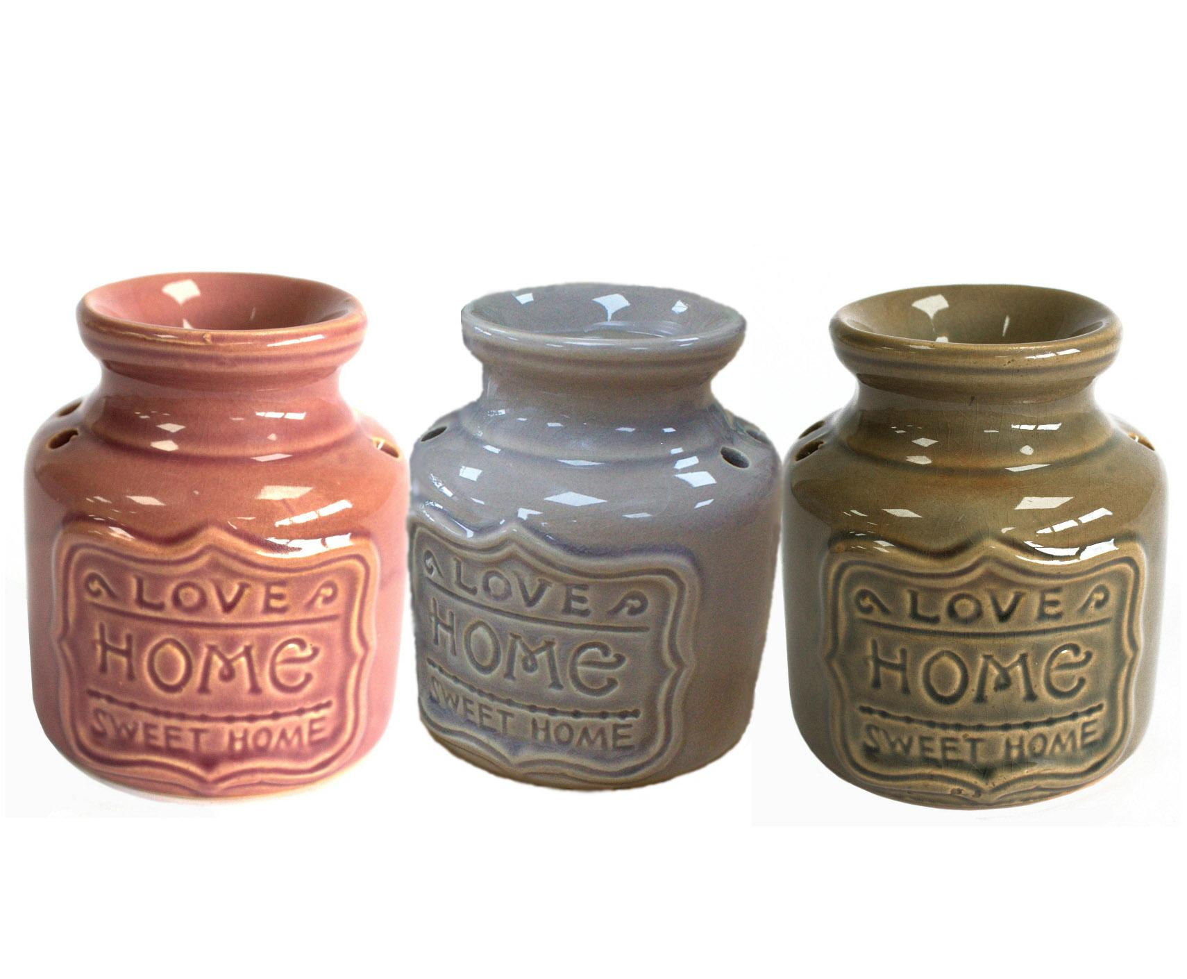 """Homely"" oil burner (Choice of 3 colours)"
